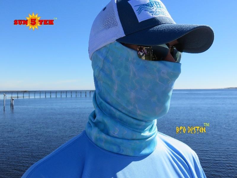 Reel fish outfitters reel fish outfitters sun tek 5 for Neck gaiter fishing